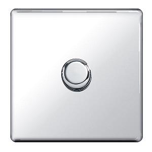 BG FPC81P Push Dimmer Switch 1 Gang 400W