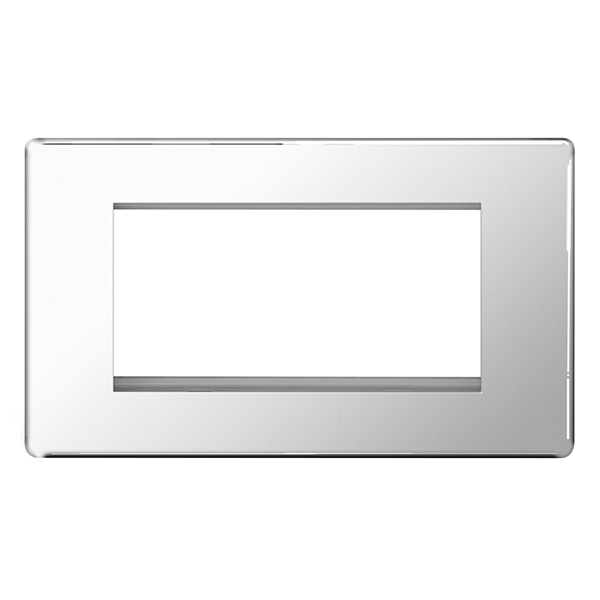 BG FPCEMR4 Frontplate 4 Mod Rectangular