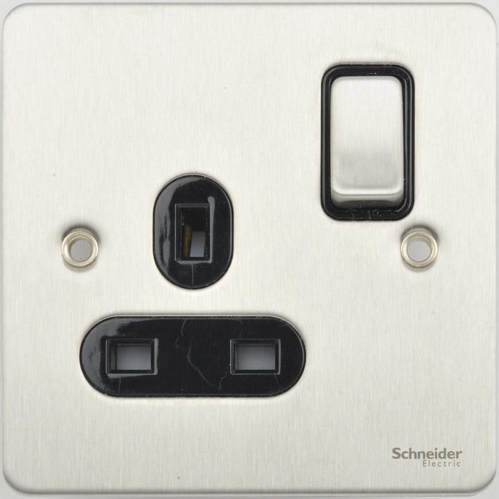 Schneider GU3210BSS Swd Socket 1Gang 13A