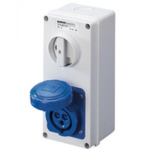 Gewiss GW66204N Socket 2P+E 16A 230V