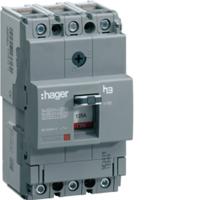 Hager HDA125U MCCB TP 125A 18kA