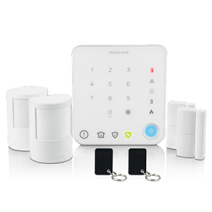 Honeywell HS330S Quick Start Apart Alarm