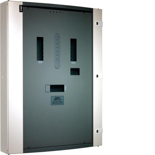 Hager JN204BG Panelboard 4 Way 250A