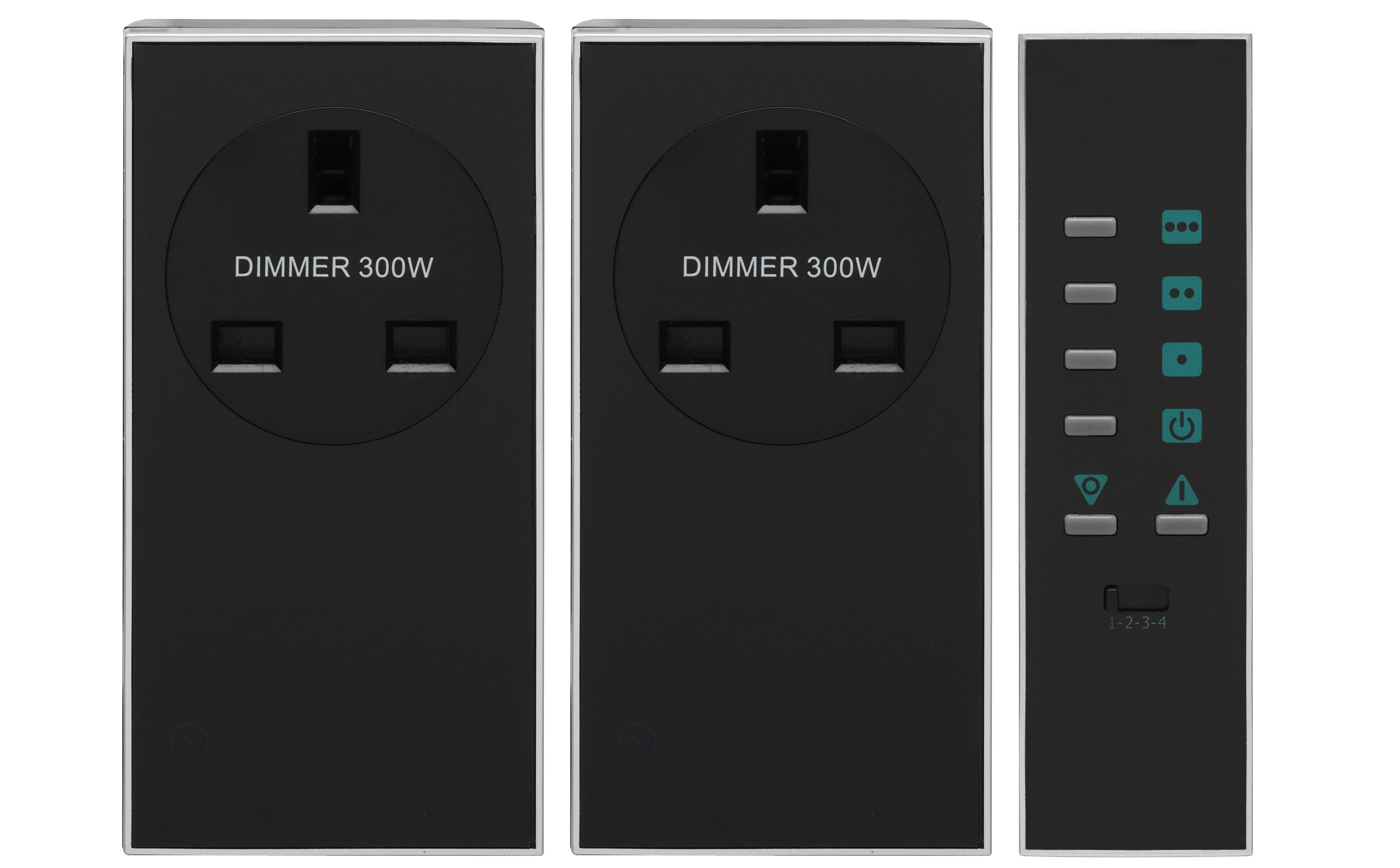 Lightwave LW301BLK Dimmer Skt Kit