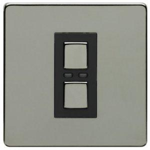 Lightwave LW400BLK 1 Gang Dimmer 250W