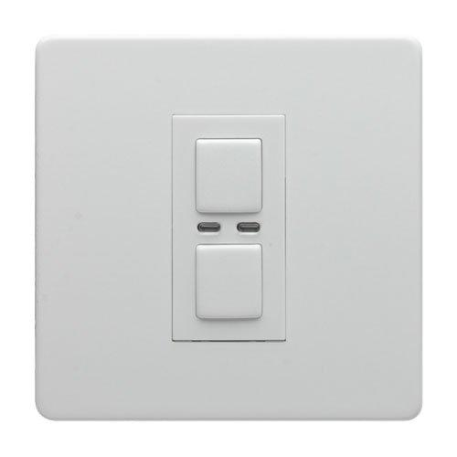 Lightwave LW450WH 1G 2 Way Dimmer 250W