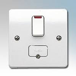 MK K1060WHI Conn Unit Sw Fused Neon