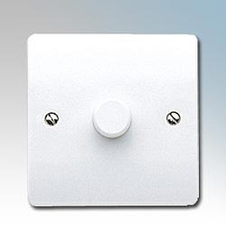 MK K1534WHI Dimmer Switch 1 Gang 250W