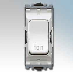MK K4896FNWHI Grid Switch Fan