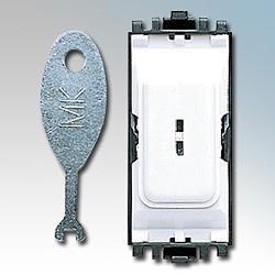 MK K4917WHI Grid Switch 1 Way DP Key