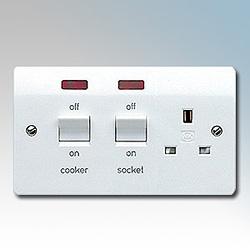 MK K5061WHI Cooker Control Unit 45A