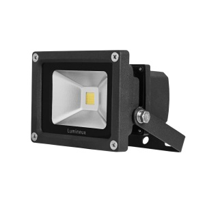 20W LED Floodlight 3K Black *