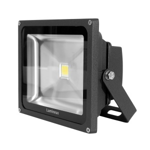 30W LED Floodlight 3K Black *