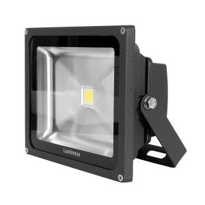 50W LED Floodlight 3K Black *