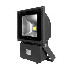 80W LED Floodlight 4K Black *