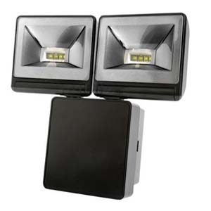 Timeguard LED200FLB LED Floodlight 2x8W