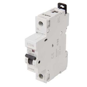 Eaton MCH125 MCB SP C 25A 10kA