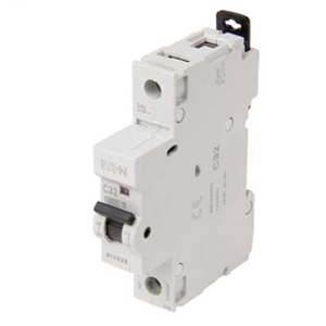 Eaton MCH132 MCB SP C 32A 10kA
