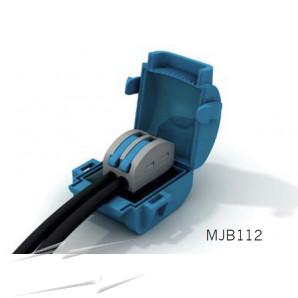 Wiska MJB112 Gel Insl Junction Box Blue