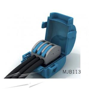 Wiska MJB113 Gel Insl Junction Box Blue