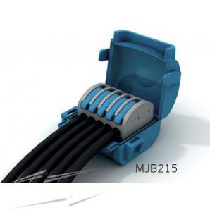Wiska MJB215 Gel Insl Junction Box Blue