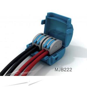 Wiska MJB222 Gel Insl Junction Box Blue