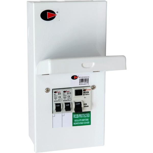 Lewden QFS-MCGARAGE-63 Consumer Unit