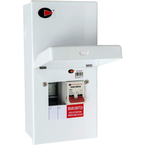 Lewden QFS-MX04M Consumer Unit 2W 100A