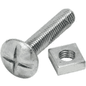 Deligo RB610 Roofing Nut   Bolt M6x10mm