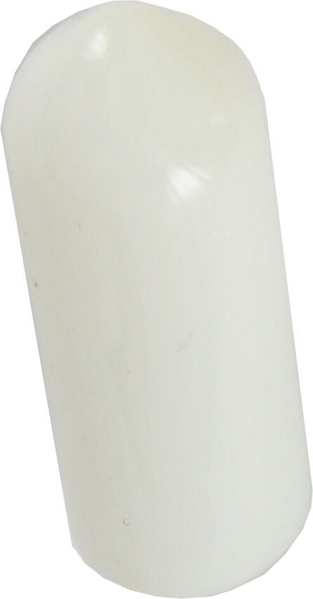 Deligo REC10W Rod End Cap 10mm Plas Whi (100)