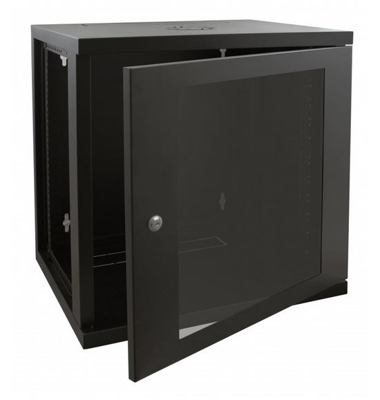 Cntx Wall Cabinet 12u 450mm Black