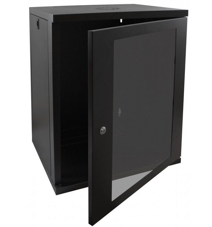 Cntx Wall Cabinet 15u 450mm Black