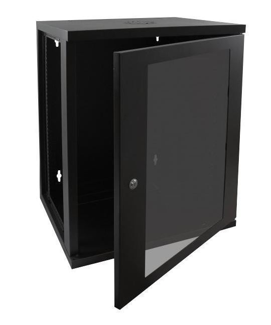 Cntx Wall Cabinet 18u 450mm Black