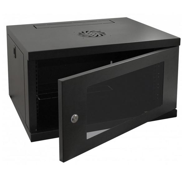 Cntx Wall Cabinet 6u 450mm Black