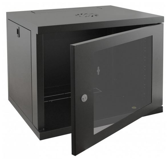 Cntx Wall Cabinet 9u 450mm Black
