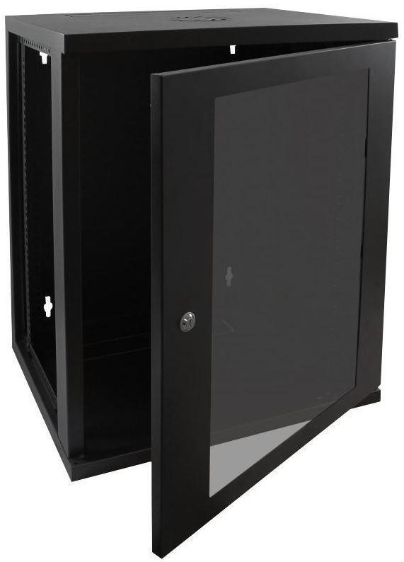Cntx Wall Cabinet 15u 550mm Black