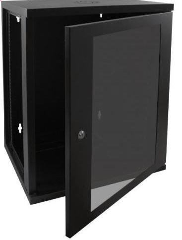Cntx Wall Cabinet 18u 550mm Black