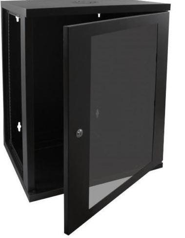 Cntx Wall Cabinet 21u 550mm Black