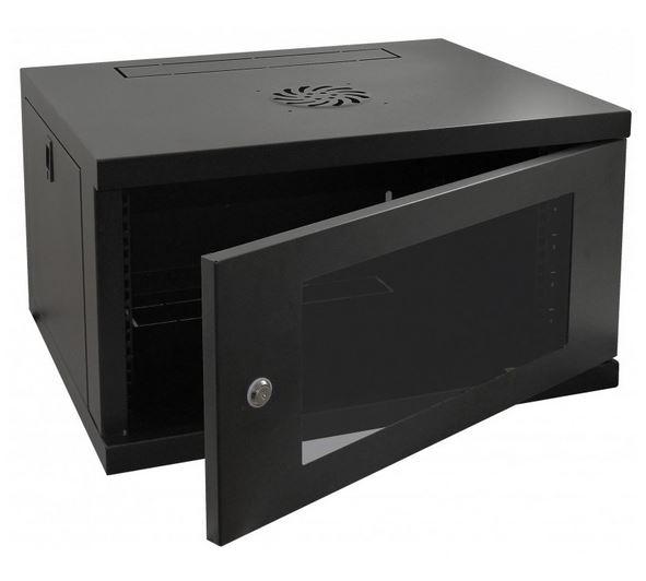 Cntx Wall Cabinet 6u 550mm Black