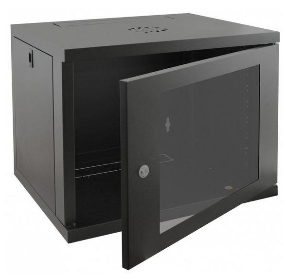 Cntx Wall Cabinet 9u 550mm Black
