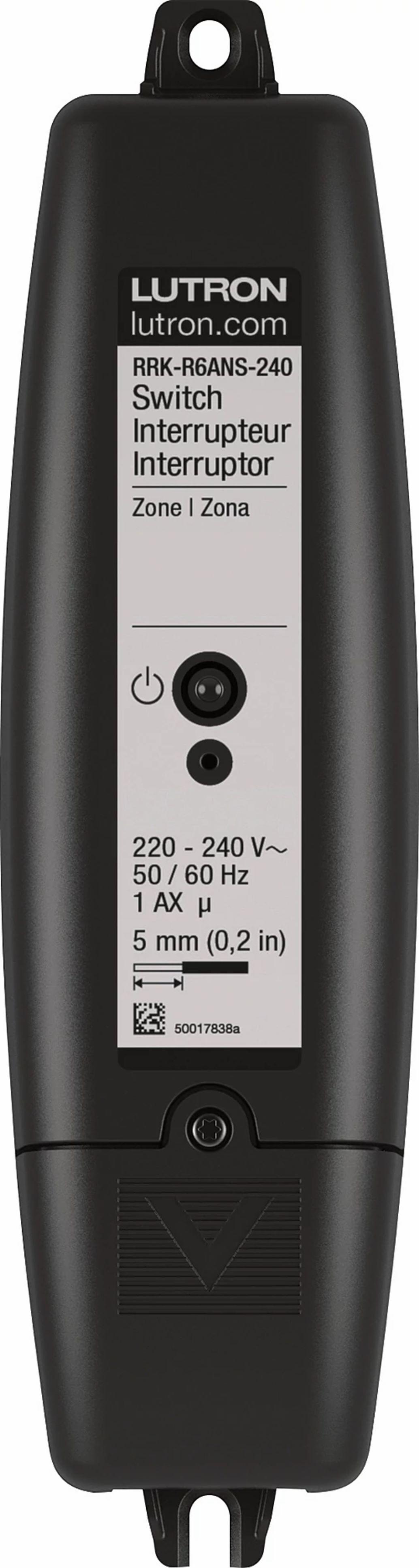 Lutron RRK-R6ANS-240 RA2 Switch 5A