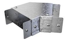 Trench 50x50 Flat Bend Galv 45Deg *