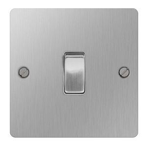 BG SBS12 Plate Switch 1 Gang 2 Way 10A