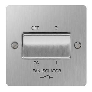 BG SBS15 Plate Switch Fan Isolator 10A