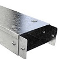 Trench 150x50 Galv Trunking (Per 3mtrs) *