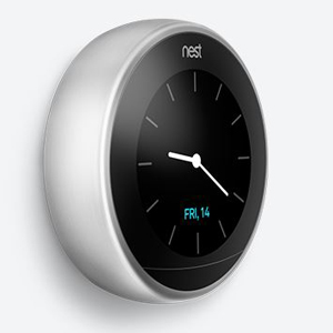 Nest Learning Thermostat 3rd Gen Stainless