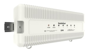 Heatmiser UH4 4 Zone Wiring Centre 230v