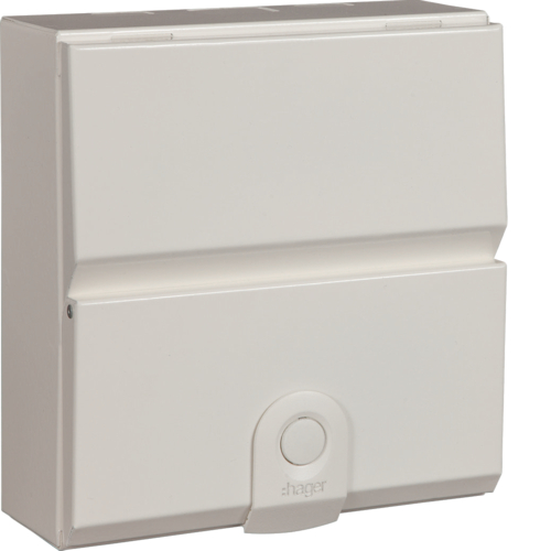 Hager VM206 Consumer Unit 6 Way 63A