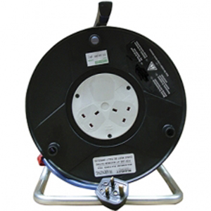 25Mtr 230v 2 Outlets Extension Reel *