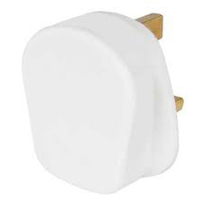 White Rubber Plug Top 13A *